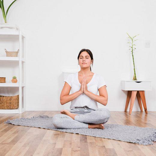 Cómo hacer yoga en casa por primera vez 8